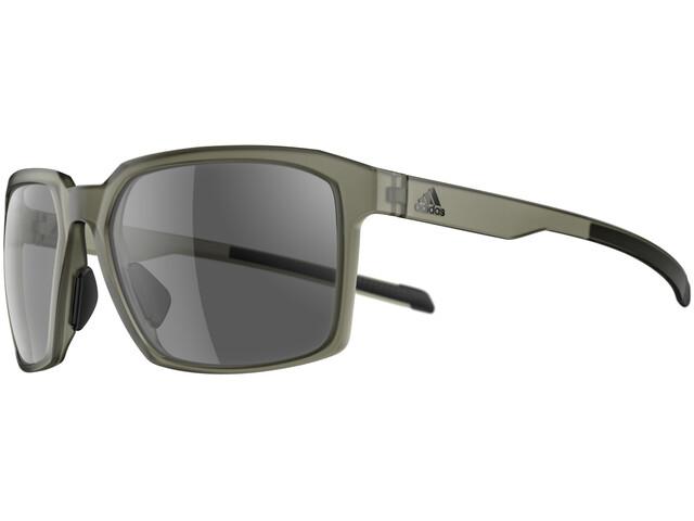 adidas Evolver Glasses olive matt/grey